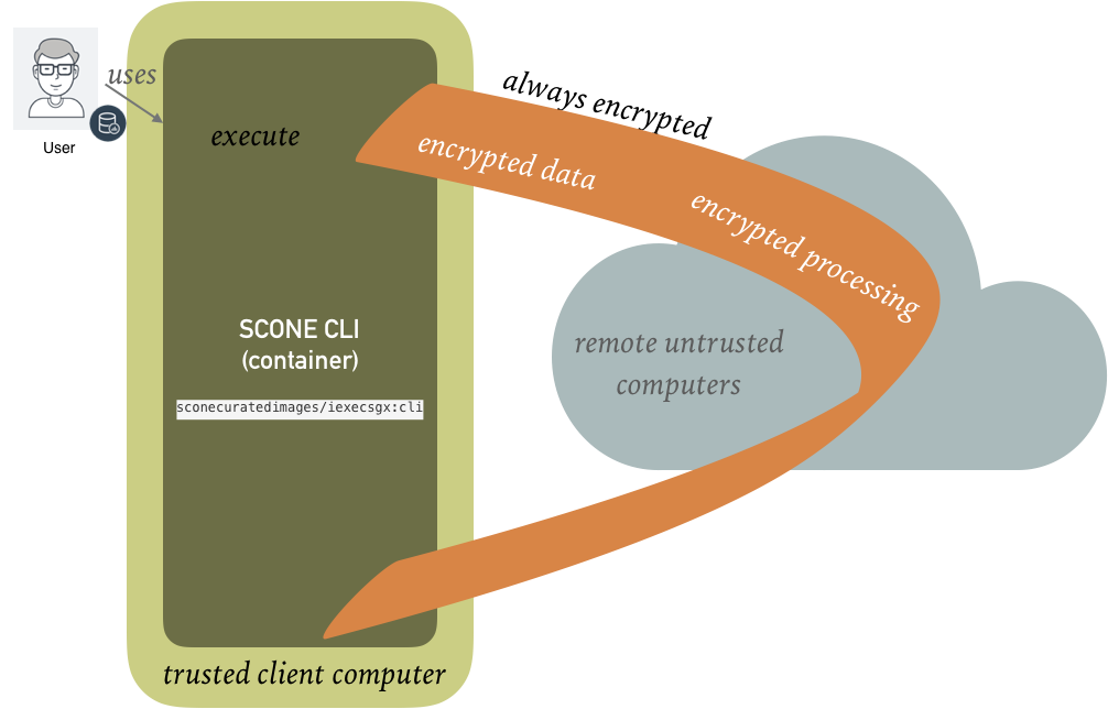 Secure Remote Execution - SCONE